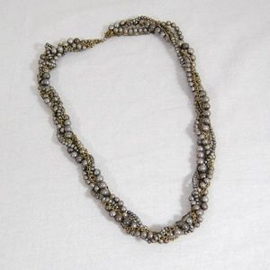 Jewelry - Twisted Bead & Chain Necklace